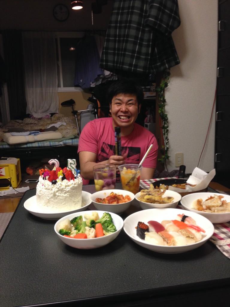 早坂お誕生日おめでとう
