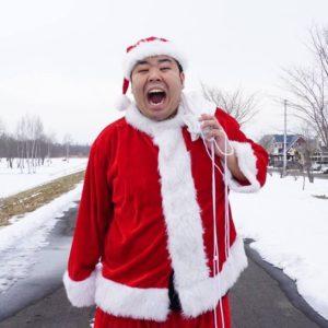 クリスマス2019、今年は珍しくサンタの服を着なかった早坂。