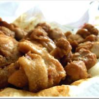 「レンジでチンするから揚げ粉」で鶏モモ肉を電子レンジで唐揚げにしてみたよ。
