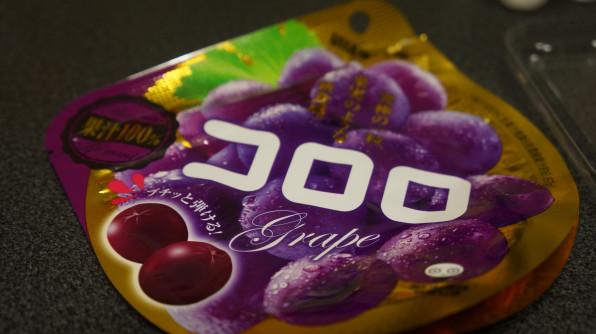 グミ嫌いな私がUHA味覚糖から出た新触感グミ『コロロ』に挑戦!!